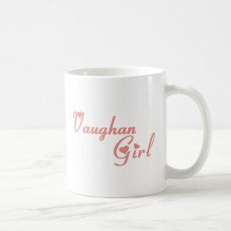 Het Meisje van Vaughan Koffiemok