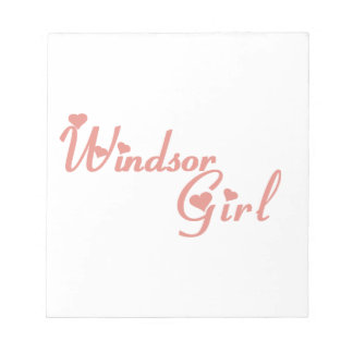 Het Meisje van Windsor Notitieblok