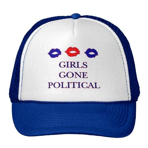 Het meisjes Gegaane Politieke Pet van het Logo