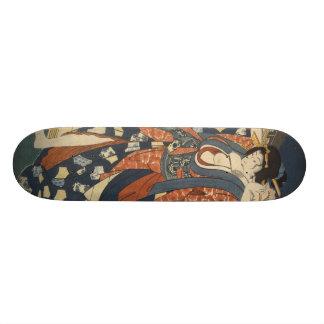 Het meisjesskateboard van de geisha skate deck