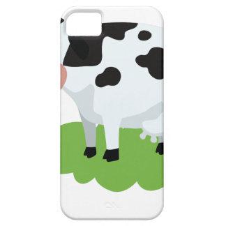 het melken van koe in de tuin barely there iPhone 5 hoesje