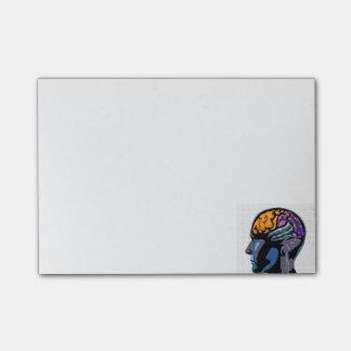 Het menselijke Art. van de Straat van de Mening Post-it® Notes