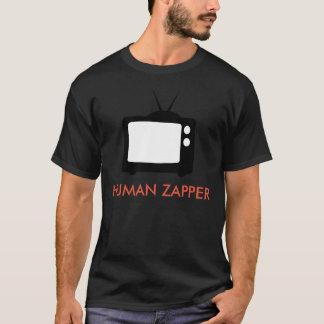 Het Menselijke Grappige Overhemd Zapper van TV T Shirt