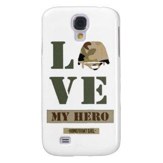"""Het merk van Homefront Girl™ het ontwerp """"houdt Galaxy S4 Hoesje"""
