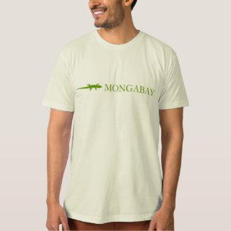 Het merkt-shirt van Mongabay (oranje grens) T Shirt