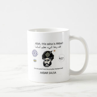 Het merktoestel van Salsa van Akbar Koffiemok