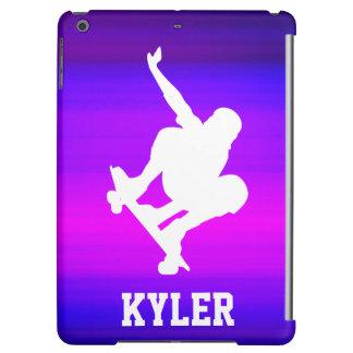 Het met een skateboard rijden; Trillende Violette