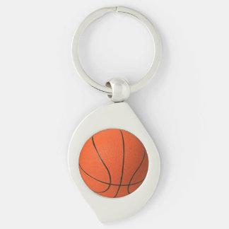 Het Metaal Keychain van het basketbal