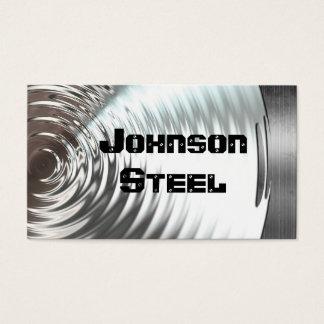 Het Metaal van het staal kijkt Visitekaartjes