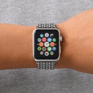 Het metaal Weefsel kijkt de Band van het Horloge
