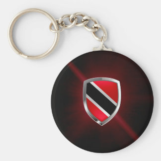 Het MetaalEmbleem van Trinidad en van Tobago Sleutelhanger