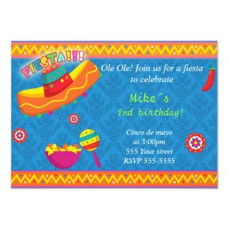 Het Mexicaanse Blauw van de Verjaardag van de Kaart