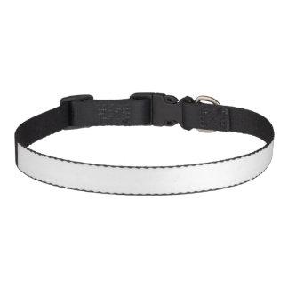 Het Middel van de Halsband van de douane Honden Halsbanden