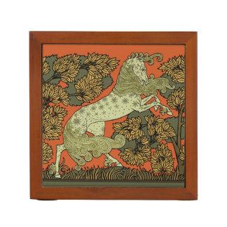 Het middeleeuwse Art. van het Paard Pennenhouder