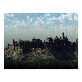 Het middeleeuwse Kasteel van de Heuveltop Briefkaart