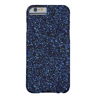 het middernacht blauw schittert iPhone 6 hoesje