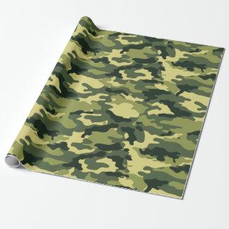 Het militaire Groene Patroon van Camo van de Inpakpapier