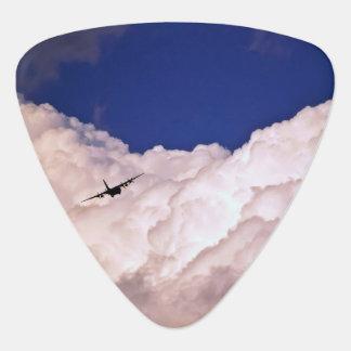 Het militaire Vliegtuig van het Vervoer door Gitaar Plectrums 0