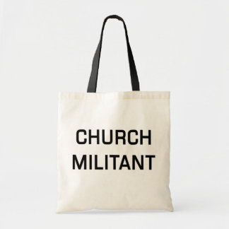 Het Militante Bolsa van de kerk Draagtas