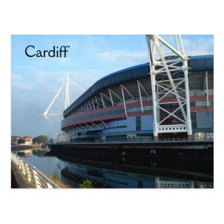 Het Millennium Stadium van Cardiff Briefkaart
