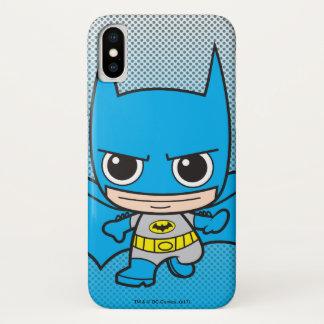Het mini Lopen van Batman iPhone X Hoesje