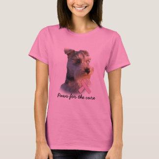 Het miniatuur Overhemd van de Dames van Kanker van T Shirt