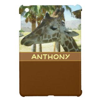Het MiniHoesje van de giraf iPad iPad Mini Cases