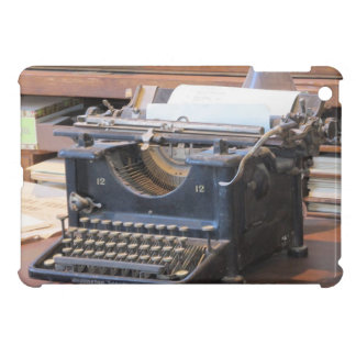 Het MiniHoesje van de schrijfmachine iPad iPad Mini Hoesje