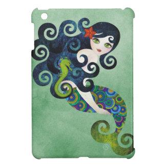 Het MiniHoesje van het aquamarijn iPad Hoesje Voor iPad Mini