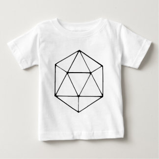 Het minimalistische D20 Tafelblad Gamer Geek van Baby T Shirts