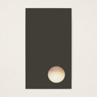 Het minimalistische Visitekaartje van de Cirkel Visitekaartjes
