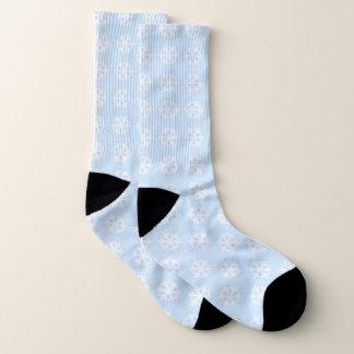 Het minimalistische Witte Patroon van de Sokken