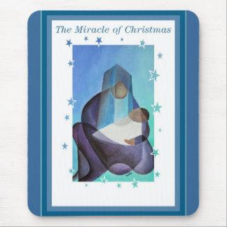 Het mirakel van Kerstmis Muismat