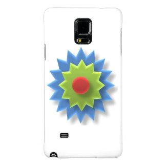 Het mobiele hoesje van Samsung met 3D ster