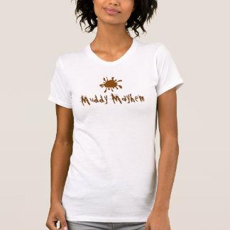 Het modderige Overhemd van het Team van de T Shirt