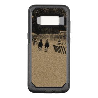 Het Modderige Spoor Grunge van paardenrennen OtterBox Commuter Samsung Galaxy S8 Hoesje