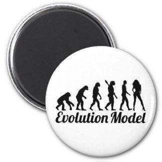Het model van de evolutie magneet