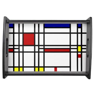 Het Moderne Art. van Mondrian Dienblad