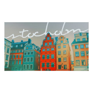 Het Moderne Art. van Stockholm Poster