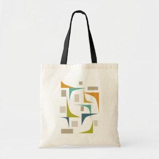 Het Moderne Canvas tas van het Midden van de eeuw
