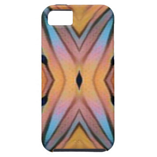 Het moderne Funky Neutrale Abstracte Patroon van Tough iPhone 5 Hoesje