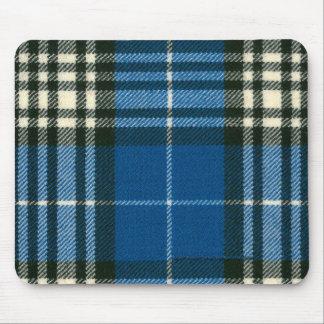 Het Moderne Geruite Schotse wollen stof Mousepad v Muismat