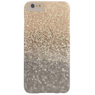 Het moderne Goud & het Zilver schitteren iPhone Barely There iPhone 6 Plus Hoesje