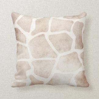 Het moderne Kussen van het Patroon van de Giraf Gr