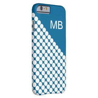 Het Moderne Monogram van het mannen Barely There iPhone 6 Hoesje