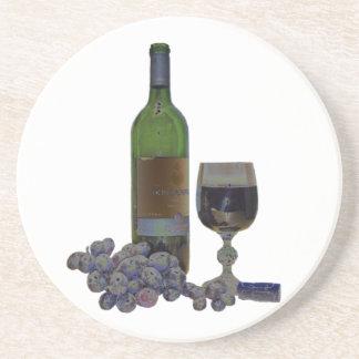 Het moderne Onderzetter van de Kunst van de Wijn