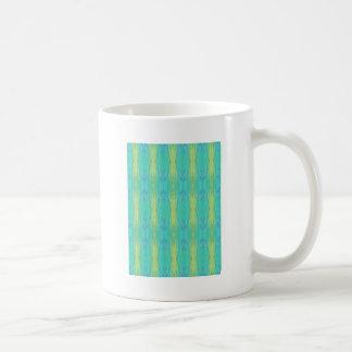 Het Moderne Patroon van het mooie Blauwgroen Koffiemok