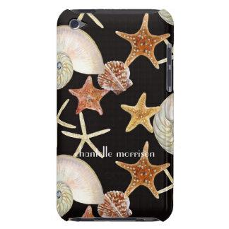 Het Moderne Patroon van Shell van het Zee van de K iPod Touch Hoesje