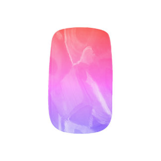 Het moderne Romantische ontwerp van de Kunst van Minx Nail Art