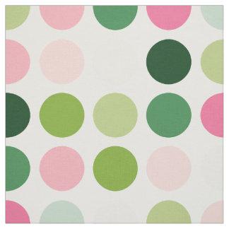 Het moderne roze groene monogram van het stof